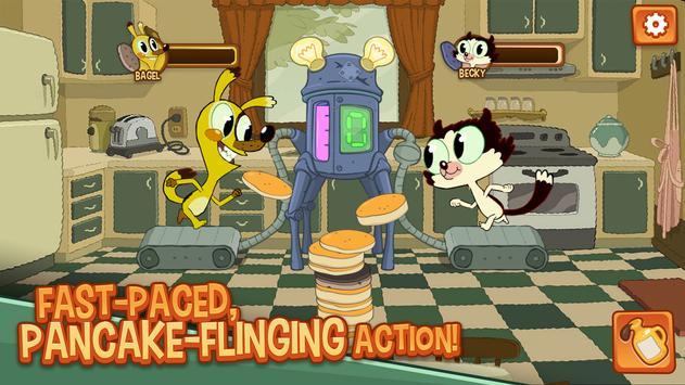 Bagel and Becky Pancake Panic poster