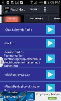 Acid House Music Radio poster