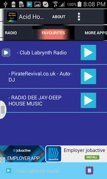 Acid House Music Radio apk screenshot