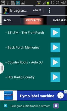 Bluegrass Music Radio apk screenshot
