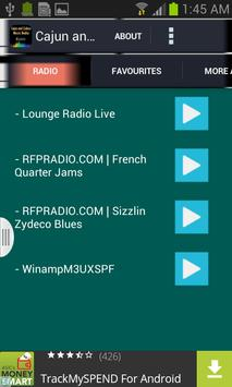 Cajun and Zydeco Music Radio apk screenshot
