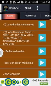Caribbean Music Radio poster