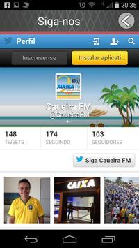 Caueira FM apk screenshot