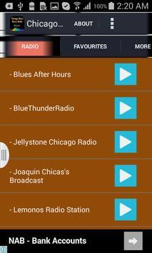 Chicago Blues Music Radio poster
