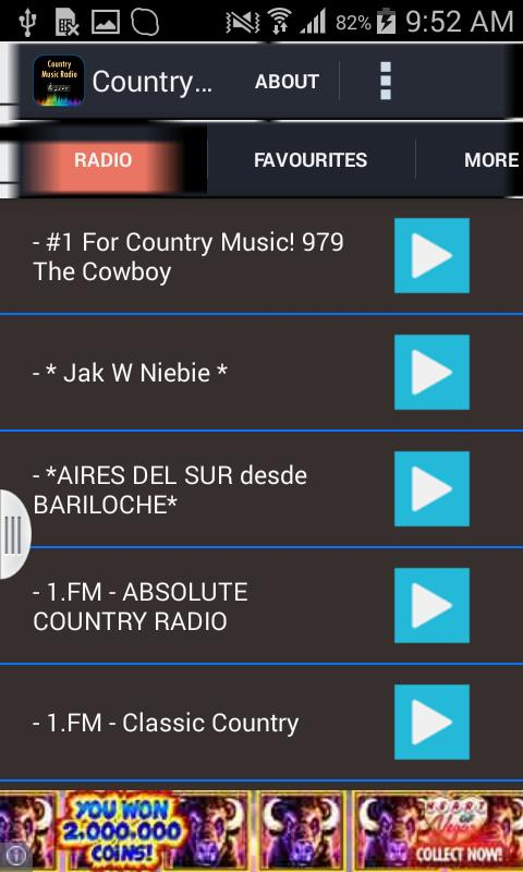 Country Music Radio For Android