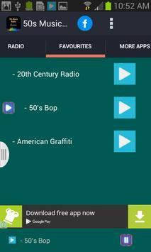 50s Music Radio screenshot 1