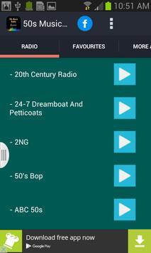 50s Music Radio apk screenshot