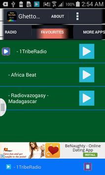 Ghetto Music Radio apk screenshot