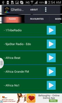 Ghetto Music Radio apk screenshot