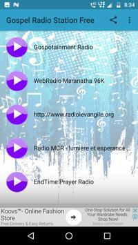 Gospel Radio Station Free screenshot 5