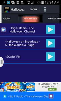 Halloween Music Radio apk screenshot