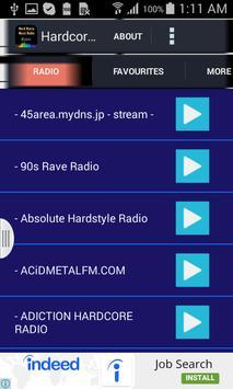 Hardcore Music Radio apk screenshot