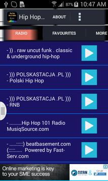 Hip Hop Music Radio poster