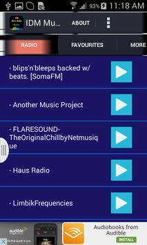 IDM Music Radio apk screenshot