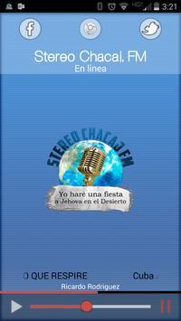 Stereo Chacaj FM poster