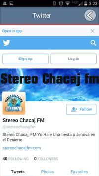Stereo Chacaj FM screenshot 3
