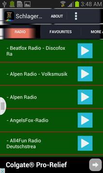 Schlager Music Radio plakat