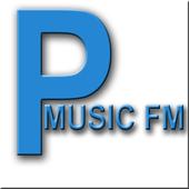 Panadora Free music radio icon