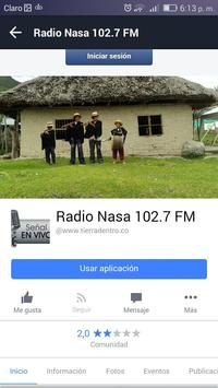 Radio Nasa 102.7 FM screenshot 1