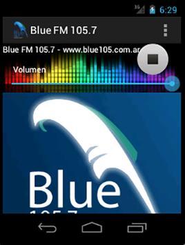 Blue FM 105.7 screenshot 1