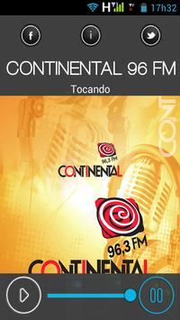 continental96fm poster