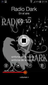 Radio Dark screenshot 1
