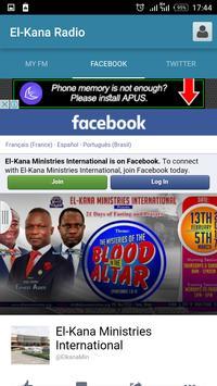 El-Kana Radio apk screenshot