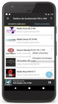 Radios Guatemala en Vivo FM AM - Emisoras de Radio Ekran Görüntüsü 11
