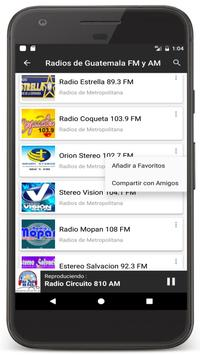 Radios Guatemala en Vivo FM AM - Emisoras de Radio Ekran Görüntüsü 12