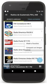 Radios Guatemala en Vivo FM AM - Emisoras de Radio Ekran Görüntüsü 17