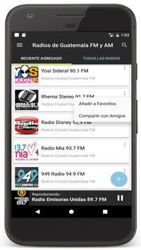 18 Schermata Radios Guatemala en Vivo FM AM - Emisoras de Radio