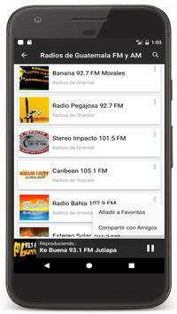 Radios Guatemala en Vivo FM AM - Emisoras de Radio Ekran Görüntüsü 7