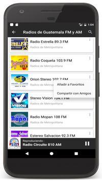 Radios Guatemala en Vivo FM AM - Emisoras de Radio Ekran Görüntüsü 4
