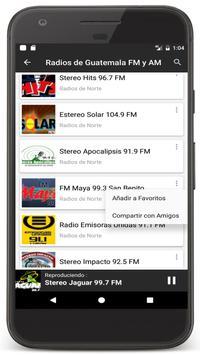 Radios Guatemala en Vivo FM AM - Emisoras de Radio Ekran Görüntüsü 5