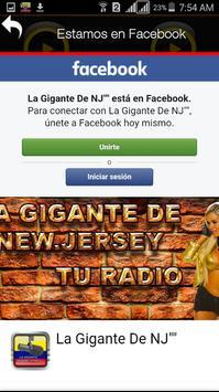 LA GIGANTE DE NJ apk screenshot