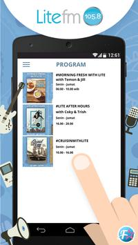 LiteFMJakarta apk screenshot