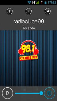 radioclube98 poster