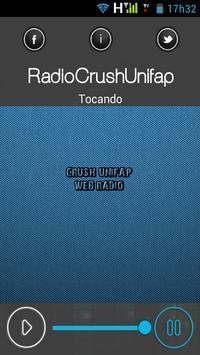 radiocrushunifap poster