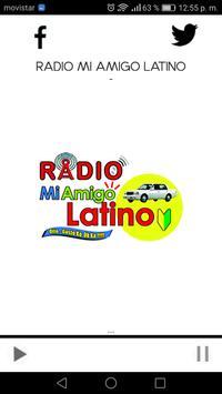 Radio Mi Amigo Latino screenshot 1