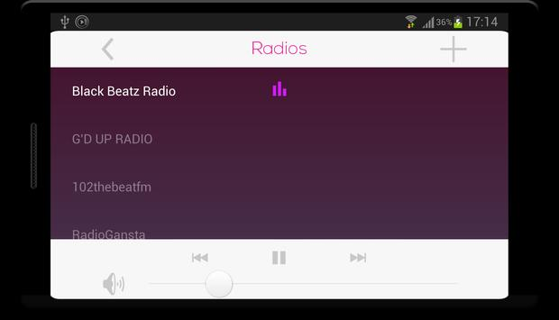 RaP Radios screenshot 3