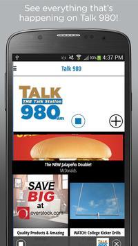 Talk 980 – KMBZ-AM poster