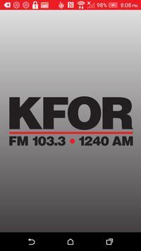 KFOR 1240 poster