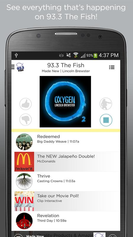 93 3 the fish apk download free music audio app for