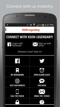 KSON Legendary Country apk screenshot