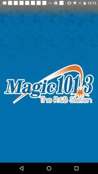 Magic 101.3 poster