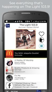 The Light 103.9 FM - Raleigh poster