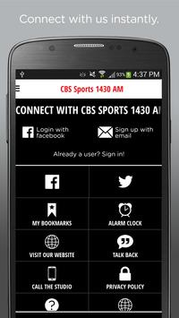 CBS Sports 1430 screenshot 1