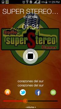 RADIO SUPER STEREO CANAS apk screenshot