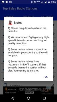 Top Salsa Radio Stations screenshot 3