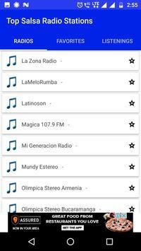 Top Salsa Radio Stations screenshot 14
